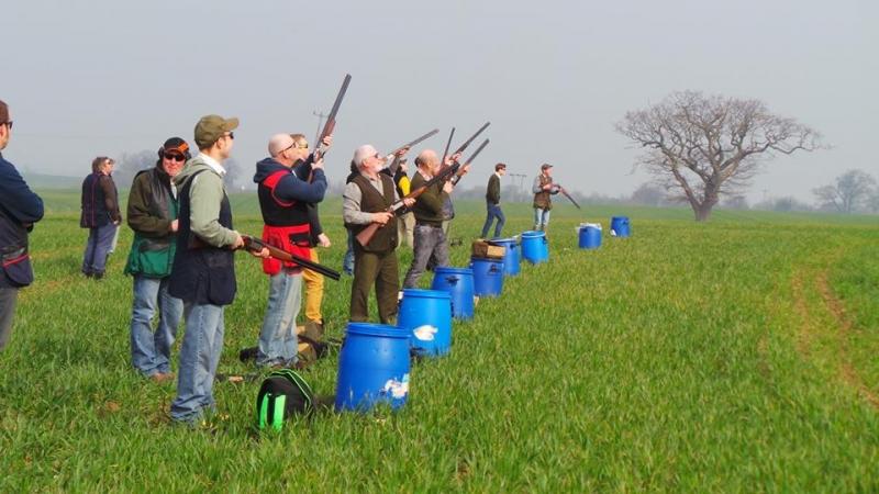 Имитация охоты в Академии стрельбы