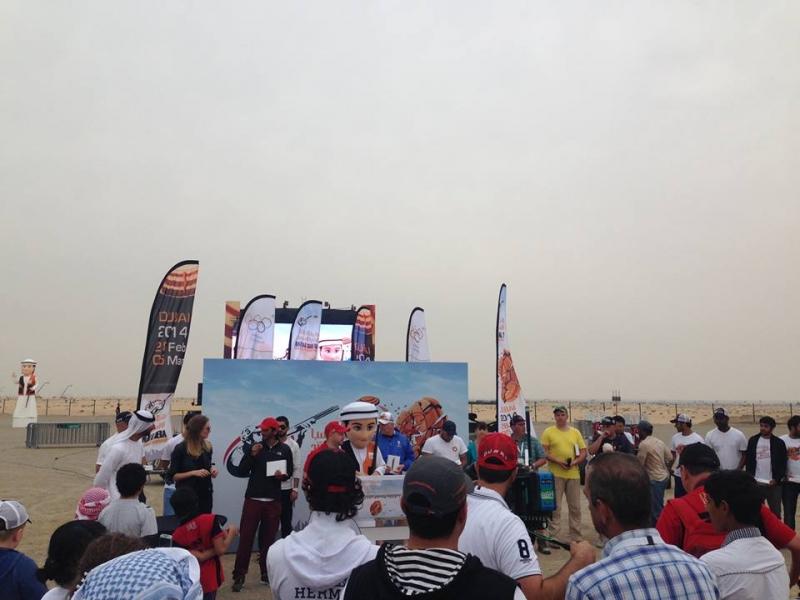 Соревнования в Дубае, март 2014