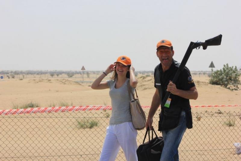 Филип Торрольд, соревнования в Дубае март 2014