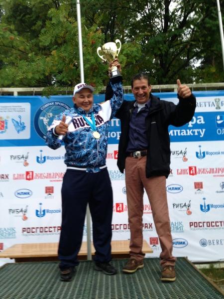 Филип Торрольд и Айаал Макаров Чемпионат мира по спортинг-компакту