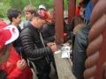 Автографы фанатам спортинга